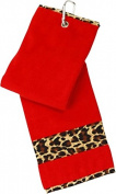 Leopard Golf Towel