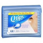 Q-TIPS SWABS PURSE PACK Pack of 30 by DOT UNILEVER ****