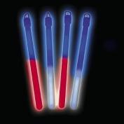 18cm PATRIOTIC BICOLOR LIGHT STICK (1 DOZEN) - BULK
