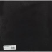 Medium Weight Chipboard Sheets 30cm x 30cm 25/Pkg-Black