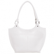 Parinda CATERINA 11087 Faux Leather Large Handbag - Sand