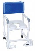 MJM International 118-3-SSDE-IF Shower Chair