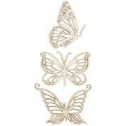 Kaisercraft 471559 Wood Flourishes-Magical Butterfly