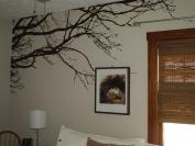 Innovative Stencils Tree Top Branches Wall Decal Vinyl Sticker 254cm Wide X 112cm High