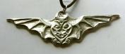 Bat Magic - Pewter Pendant - Animal Totem Jewellery, Nature, Necklace