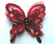 Ribbon Butterfly Clip