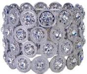 Corsage Bracelet - Carousel Flower Bracelet - Dazzle