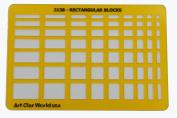 Artistic Design Template - Rectangular Blocks