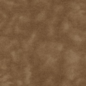 A E Nathan 270cm Wide Mottled Flannel Brown Fabric