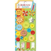 BoBunny Surprise! Buttons & Embellishments