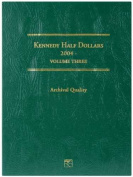 Kennedy Half Dollar Folder-2004-2008 Volume 3