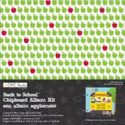 Back To School Chipboard Album Kit - TPC Studio