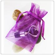 150 Purple Wedding Organza Favour Gift Bags 7.6cm x 10cm