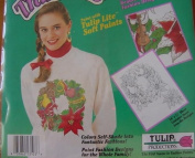 Delia Robbia Wreath - Christmas Collection - Tulip Shaded Transfers (Iron-Ons) - ST 3