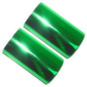 Set of 2 Hot Foil Stamp Rolls 120m 2 Rolls 60m Each Brilliant Green
