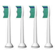 The S & P 4 x Generic Replacement Brush Heads, Compatible with Philips Sonicare ProResults Standard-Brush Head, HX6014
