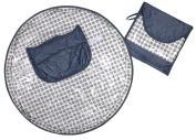 Neatnik Saucer High Chair Cover- Grey Dot