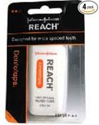Reach DentoTAPE Waxed Ribbon Dental Floss, 100-Yard Dispensers