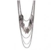 HotEnergy Bohemian Retro Chain Multi Stray Leaf Necklace Sweater Long Chain Jewellery