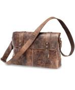 Greenland Nature Classic Shoulder Bag Leather 36 cm brown
