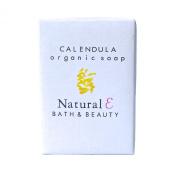 Calendula Soap (Large 190ml)- Organic Soap with Organic Calendula Oil Natural Soap Moisturising and Gentle Body Soap Unscented Soap