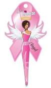 Diva Tweezer Professional Tweezers Breast Cancer Awareness Pink Ribbon Edition Angel TW1006A