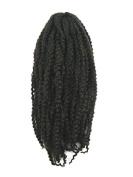CyberloxShop® Marley Braid Afro Kinky Hair #4 Dark Brown