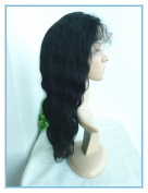 off black GLUELESS SILK TOP LACE FRONT WIG-NATURAL LOOKING LOW PRICE,BODY WAVE TEXTURE