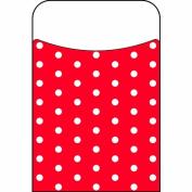 Trend Enterprises Polka Dots Red Terrific Pockets Novelty