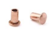 0.2cm Dia. 0.4cm Long Copper Rivet
