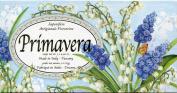 Saponificio Artigianale Fiorentino Primavera (Springtime) Lily-of-the-Valley Scented Soap ~ 3 x 130ml