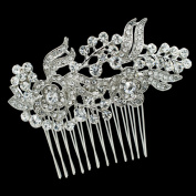 SEP Clear Crystals Rhnestone Hairpins Women Hair Comb Bridal Wedding Hair Jewellery Accessories FA5051
