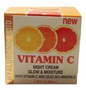 SPA Cosmetics Hyaluronic Acid Vitamin C Night Cream, 50ml