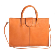 Briefcase in Italian Leather, Cartel, Woman Business HandBag Made in Italy 40x30x10 Cm