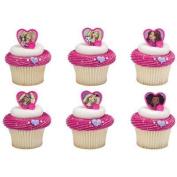 Barbie™ Sweet Sparkles Cupcake Rings - 24 pcs