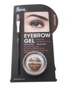 2nd Love Waterproof Eyebrow Gel, Brown Smudge Proof With Brush
