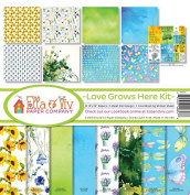 Ella & Viv by Reminisce EAV-857 Love Grows Here Paper Collection Kit