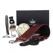 Dovo Prima Full Hollow 1.6cm Straight Razor Shaving Set - Complete Shave Set for Men!