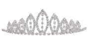 AshopZ Girl's Rhinestone Tiara Crown Little Princess Sweet Hair Accessory