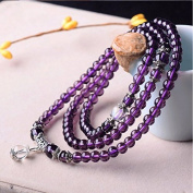 Fashion cat Natural crystal female Hand Jewellery Lucky amethyst beads bracelet