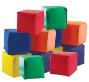 ECR4Kids SoftZone Toddler Soft Blocks, 12-Piece Set