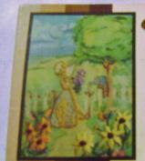 Vintage Open Door Embroiderette Beginner Kit Garden Gate 5 x 7