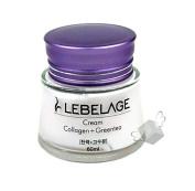 Lebelage Collagen Greentea Moisturising Cream 60Ml
