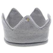Doinshop 6-36 Months Baby Princess Hand-woven Crown Tiara Headband