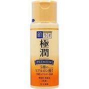 Rohto Hadalabo Gokujun Premium Hyaluronic Acid Milky Lotion 4.7floz/140ml