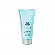 TULA Skin Care Mini Advanced Neck Cream with Probiotic Technology, 15g.