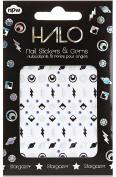 Kole Stargazer Nail Stickers & Gems Set, 30ml