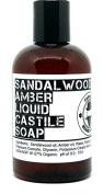 Castile Soap Sandalwood & Amber