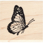 Monarch Butterfly Rubber Stamp