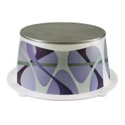 CrazyGadget® Childrens Bathroom Step Stool Potty Training Aid Safe Plastic Non Slip Bathroom Toilet Sink Stool - Purple